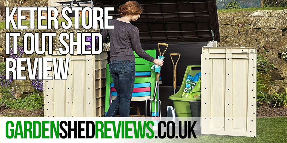 keter store it out max plastic storage shed review garden shed reviews. Black Bedroom Furniture Sets. Home Design Ideas