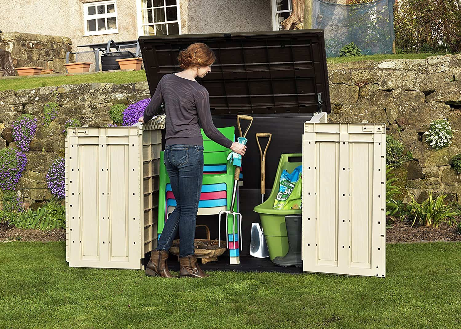 Keter Store It Out Max Outdoor Plastic Garden Storage Shed Review