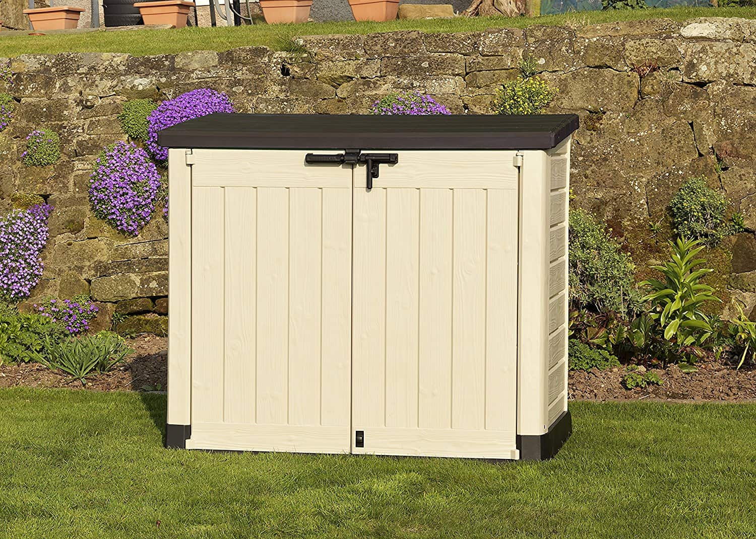 Keter Store It Out Max Plastic Storage Shed - Closed