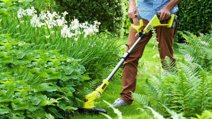 Ryobi OLT1832 Cordless Grass Trimmer Review - Garden Shed